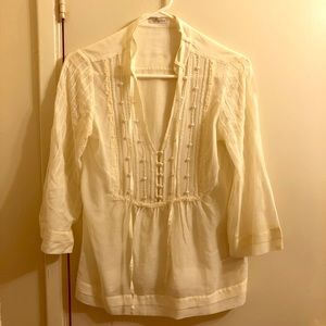 Massimo Dutti indian style blouse